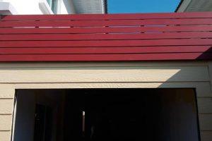 งานติดตั้งระแนงไม้เทียมและทาสีภายนอก-ภายใน